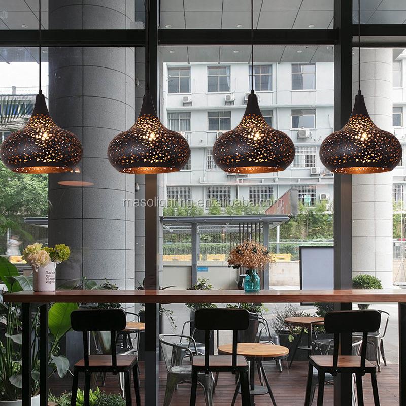 Audacieux Gourde En Forme De Lustre Pendentif Lampe Café Comptoir De Bar DI-01