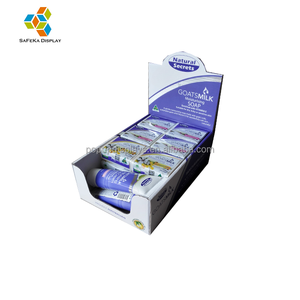 Retail Custom printed packaging counter display box for soap