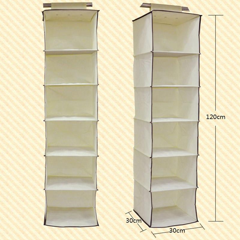 Get Quotations · Hanging Storage Organizer Closet Wardrobe Foldable Prateleiras Organizadora 6 Layer Organizer Hanging Storage (yi xia  sc 1 st  Alibaba & Cheap Wardrobe Hanging Storage find Wardrobe Hanging Storage deals ...