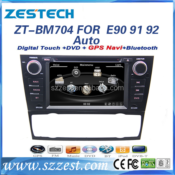 ZESTECH brand new OEM car multimedia player for BMW E90 E91 E92 auto car stereo for BMW E92 with gps bluetooth TV tuner 3g