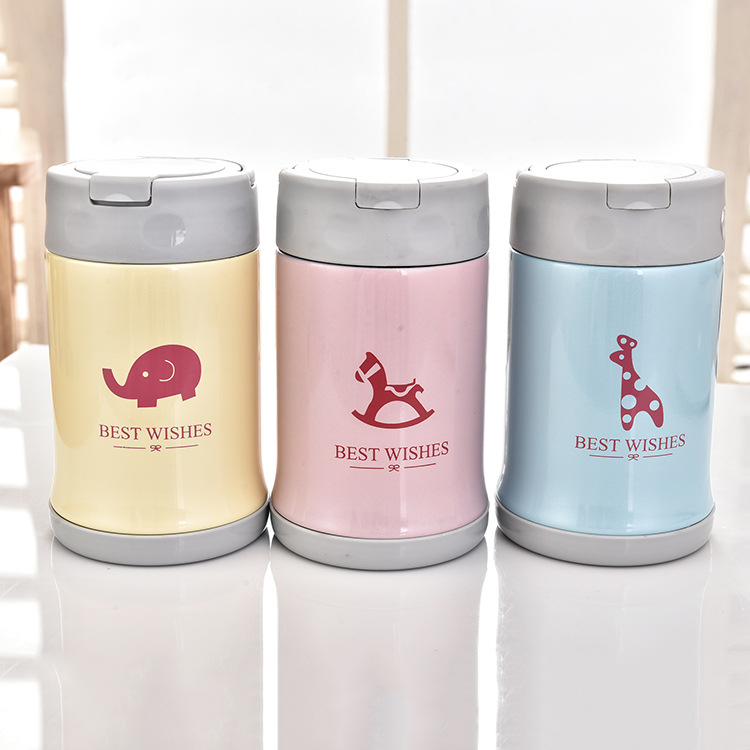 high quality stainless thermos food jar for kid