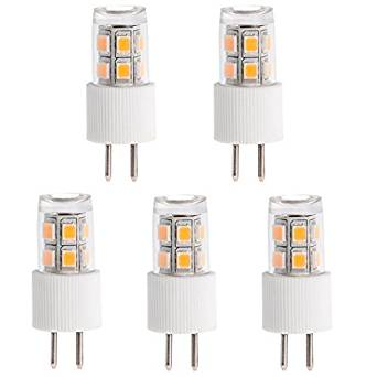 HERO-LED G5.3-13S-WW T3 G5.3 12V LED Halogen MR16 Track Reflector Replacement Bulb, 2W, 15-20W Equivalent, Warm White 3000K, 5-Pack