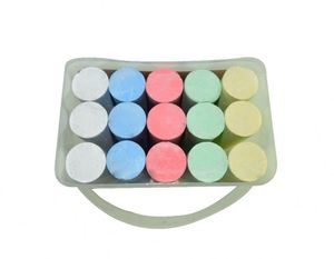 15pcs dustless chalk making machine prices sidewalk povement chalk