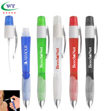 Promotional Plastic Pen With Hand Sanitizer