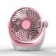 2018 Compact portable desktop usb mini fan with lithium battery