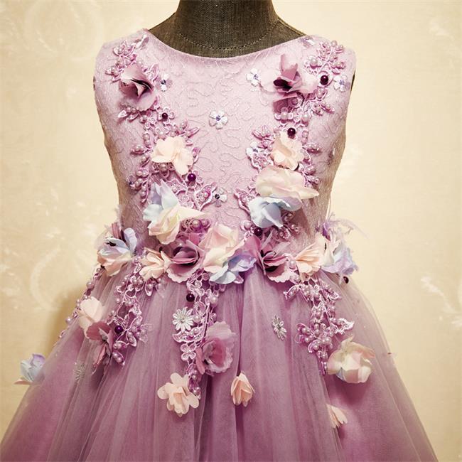 Venta al por mayor vestidos d fiesta d niña-Compre online los ...
