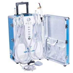 veterinary dental education use portable dental unit build in engine