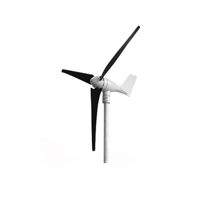 factory offer 2-bearing structure motor 400W 12V 24V wind generator