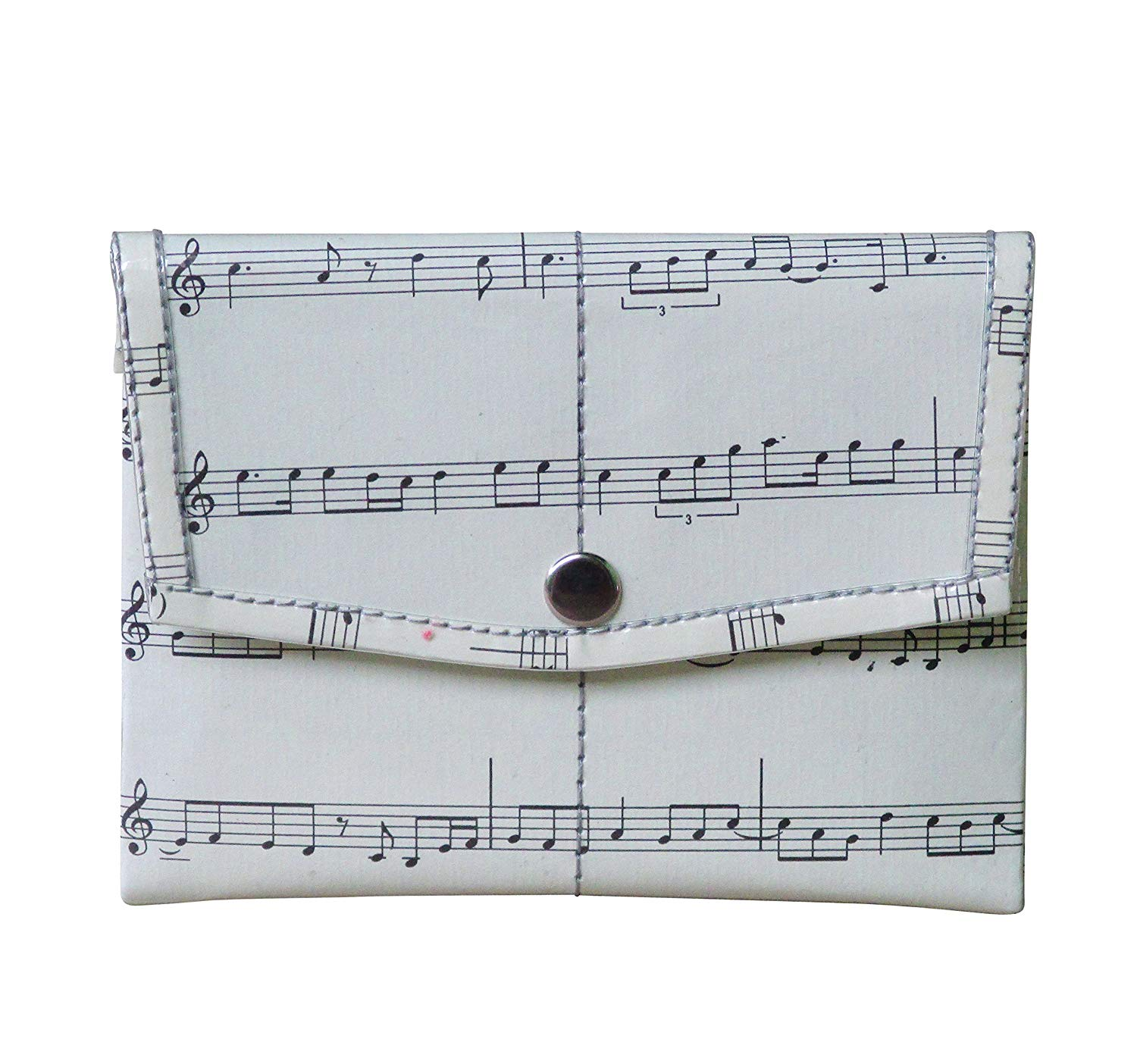 Get Quotations · Snap coin purse made of musical note sheet - FREE  SHIPPING, musician music scores music