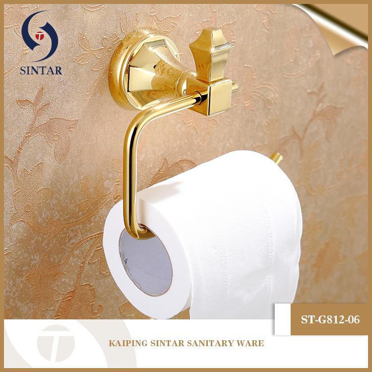 luxus design gold handtuchhalter bad accessoires set f r. Black Bedroom Furniture Sets. Home Design Ideas