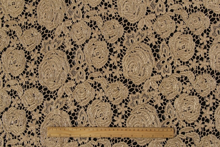 Oem factory china yellow chemical embroidered rose floral lace fabric dubai wholesale