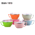 SS201 /SS 304 Stainless Steel Noodles Bowl Salad Bowl take away food containers plastic food containers with sealed lid handle