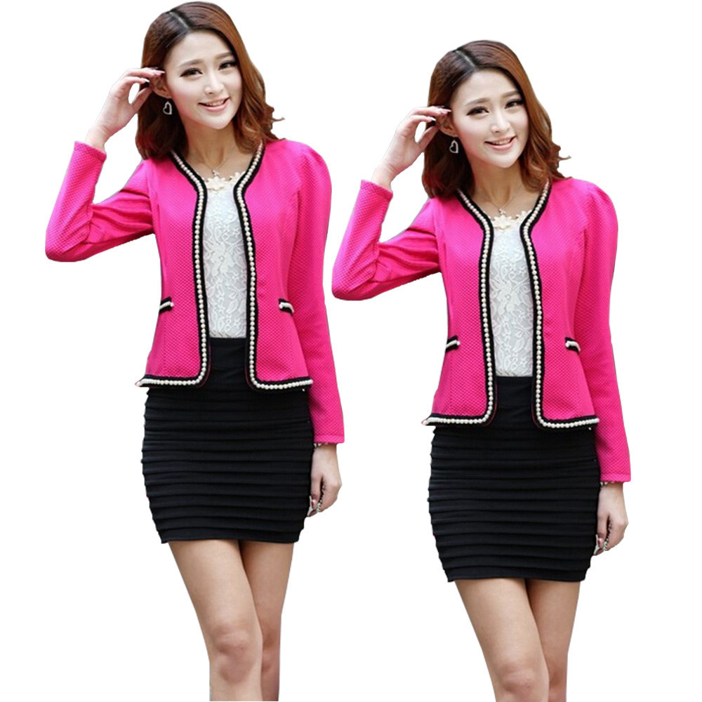 4e4909850df4f Get Quotations · Women blazer 2015 new Short Design z  a blaser suit blazers  and jackets slim