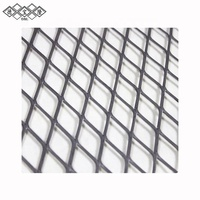 Flattenedd Heavy Expanded Metal expanded stainless steel wire mesh