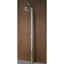 Floor Mounted Rainfall Bath Polished Shower Mixer Panel # BS-7025