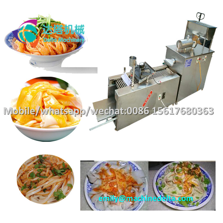 Sweet potato vermicelli maker machine/ cold rice noodle former/ sheet jelly extender