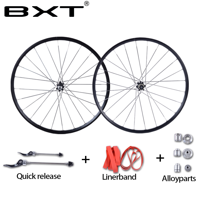 MTB Mountain Bikes Road Bicycles 24 inch Hubs Disc Brake Wheel Wheelset Clincher Rim 24 Holes