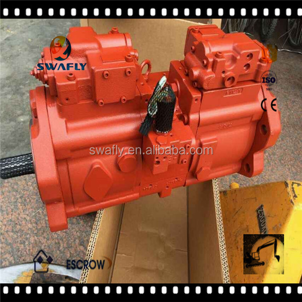Korea Kawasaki hydraulic pump K3V series , main hydraulic pump K3V112DT for excavator
