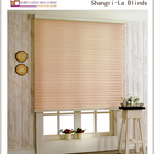 China Wholesale Double Layer 100% Polyester Horizontal Roller Shangri-la Blinds