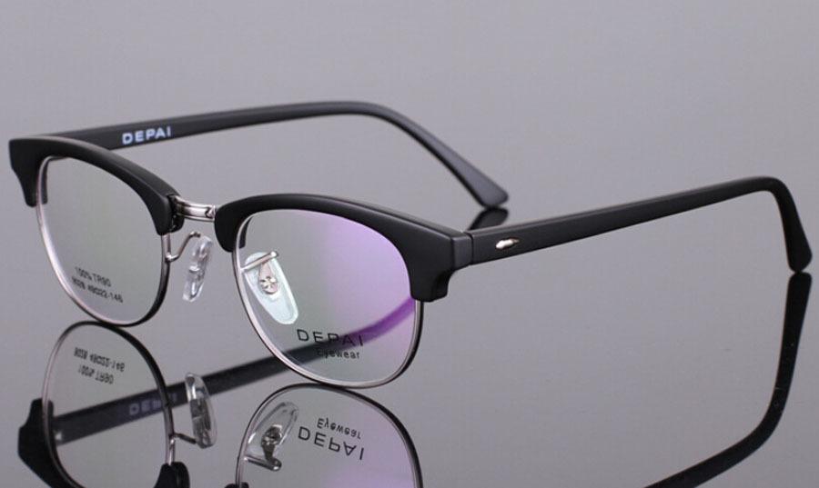 Venta al por menor de goma de moda marcos de las lentes moda marco ...