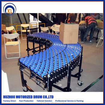 Skate Wheel Flexible Conveyor,Extensible Conveyor With Plastic And Steel  Wheel For Material Handing Equipment - Buy Flexible Screw Conveyor,Material