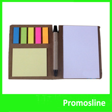 Hot Sale cheap sticky sticky note pads a5 memo pad with pen