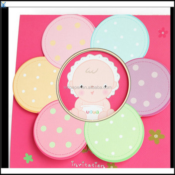 China Suppliers Yiwu New Product Sweet Baby Naming Ceremony Invitation Cards Buy New Kids Birthday Invitation Cards Birthday Invitation Letter Fancy