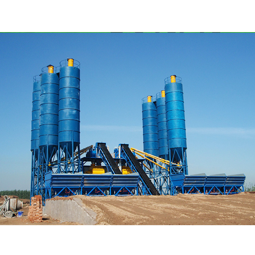 HZS Ready Mix Fixed Mini Concrete Batching Plant for Sale