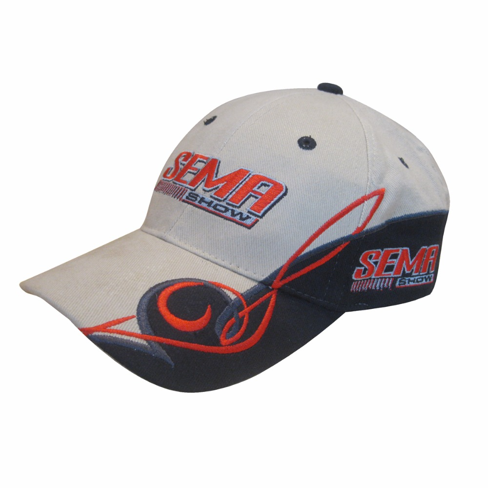 new style ecfc1 e6caf Custom cotton promotional hats men custom racing cap embroidered hat