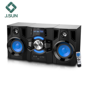 "New design 100W 2.0 double 8"" big bass hifi subwoofer speakers"