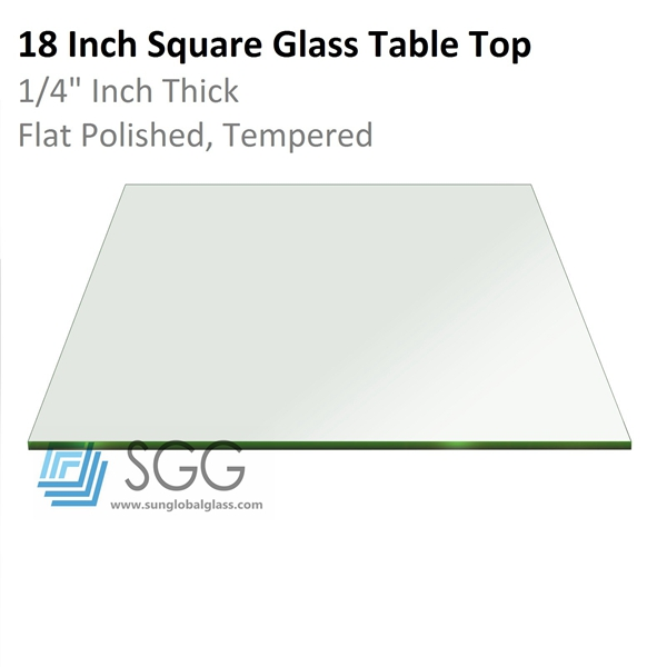 Top Quality Tempered Glass Table Top Panel(dinning Table/coffee Table/lazy  Susan