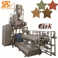 BV CE Certificated Complete Automatic Ornamental fish feed processing line