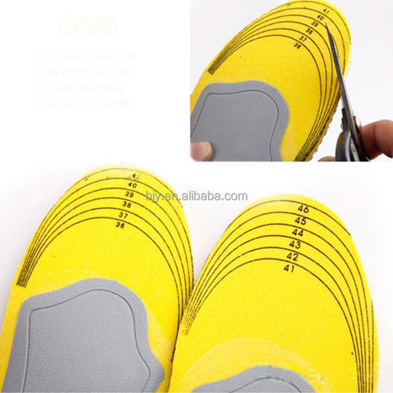 Premium Comfortable Orthotic Shoes Insoles Inserts High Arch Support Pad