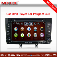 Multilingual Menu 2din in dash Special Car DVD for Peugeot 408 & 308 with GPS+TV+IPOD+Bluetooth+Radio+4GB CARD Free map