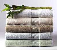 China supplier thick and big bamboo bath towel luxury towels