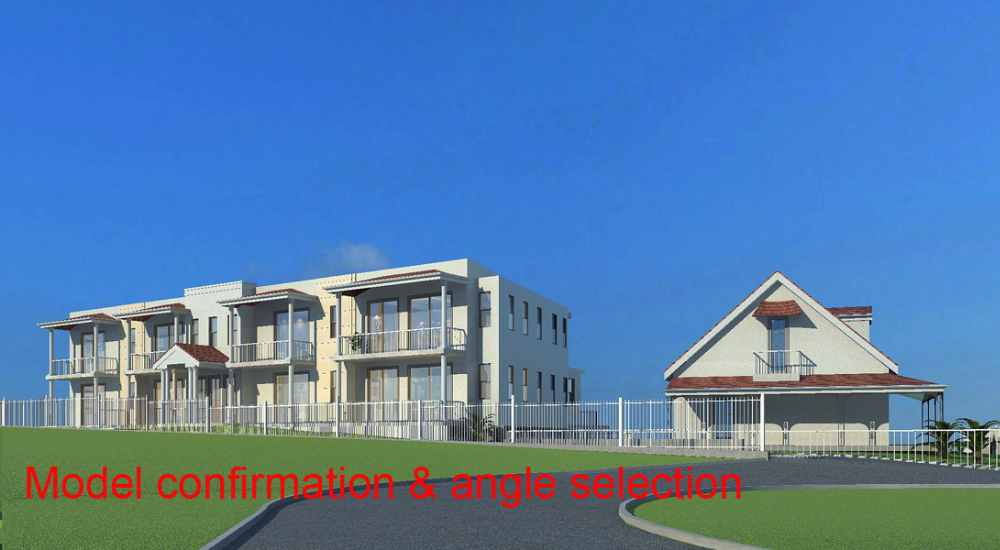acrylic house building model for sale 3d building architectural model