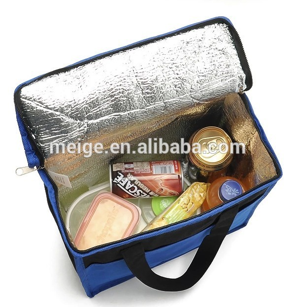 Non-woven Thermal Picnic Insulated Can Cooler Refrigerator Bag