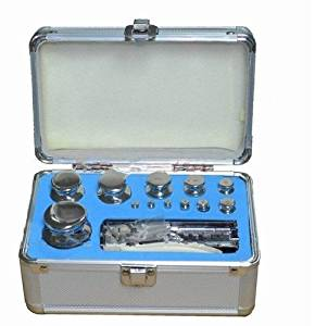 Gowe F1 Grade 1mg-200g Stainless Steel Digital Scale Calibration Weights Kit Set w Certificate
