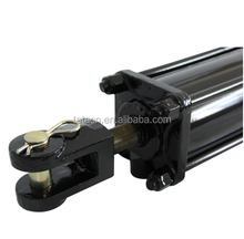 Different types agricultural tie-rod double acting telescopic hydraulic cylinder