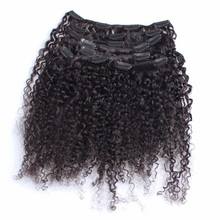 Alibaba stock price peruvian virgin hair 8a clip in hair extensions for black woman