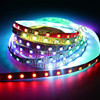 DC12V 5v Ws8208 Ic SMD5050 RGB addressable Flexible led tape Signal Break-point Continuous Digital Color digital Led Strip light