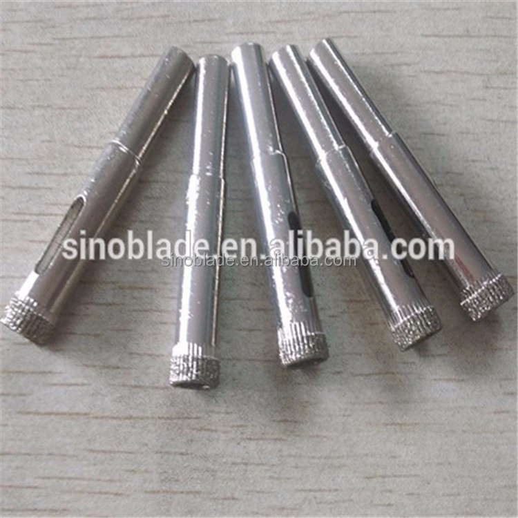 Diamond Hole Saw Glass Drill Bit Electroplated Diamond Coated Core Drill Bit For Glass Marble Tile Or Granite etc