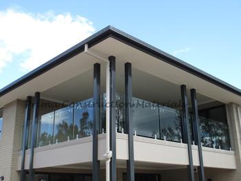 Strong Steel Glass Handrail Designs For Balcony Railings Buy
