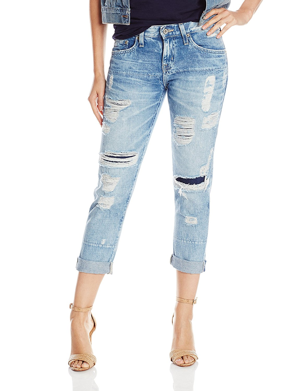 Big Star Women's Billie Slouchy Skinny Crop Jean in Indio