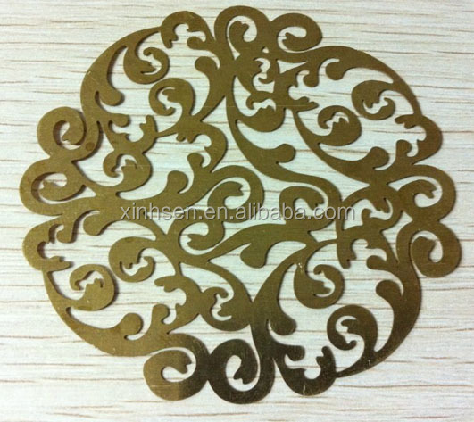 Metal etching Galvanized Punching Decorative Crafts