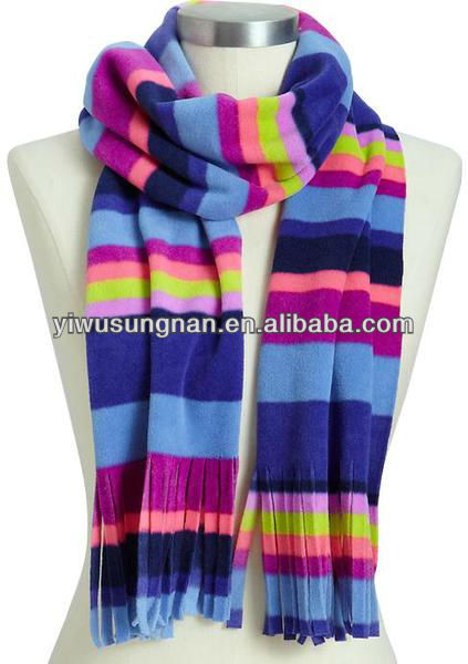 New design pretty major style Custom winter wool scarf