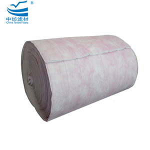 Pocket Filter Roll Media Pocket Nonwoven Filter
