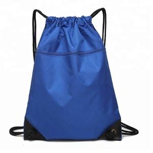 d168e54bb4 Custom 210D 420D 210T Polyester Nylon Oxford Drawstring Bag