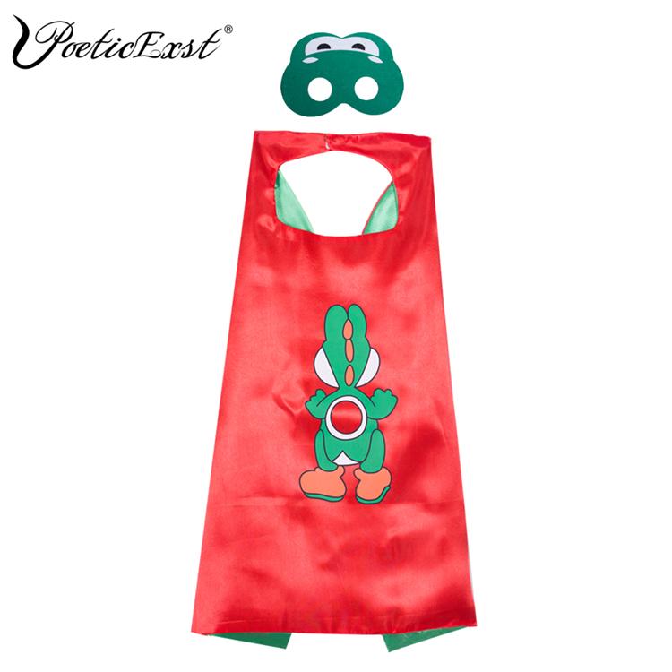 Poeticexst祭り摩耗子供コスプレマリオ岬とマスク