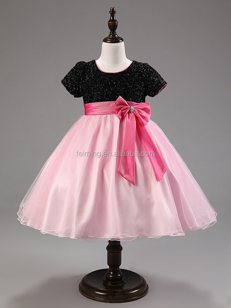 2016 Innovative Wedding Kid Clothes Children Frocks Designs Short ...
